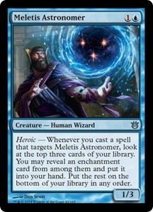 Magic: The Gathering Born of the Gods Single Card Blue Uncommon #43 Meletis Astronomer