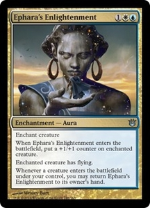 Magic: The Gathering Born of the Gods Single Card Gold Uncommon #146 Ephara's Enlightenment