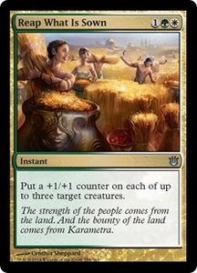 Magic: The Gathering Born of the Gods Single Card Gold Uncommon #154 Reap What Is Sown