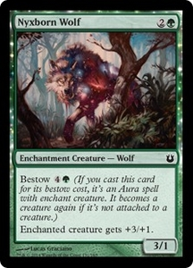 Magic: The Gathering Born of the Gods Single Card Green Common #131 Nyxborn Wolf