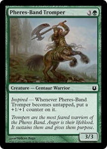Magic: The Gathering Born of the Gods Single Card Green Common #134 Pheres-Band Tromper