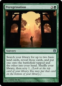 Magic: The Gathering Born of the Gods Single Card Green Uncommon #132 Peregrination