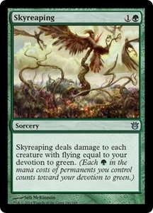 Magic: The Gathering Born of the Gods Single Card Green Uncommon #140 Skyreaping