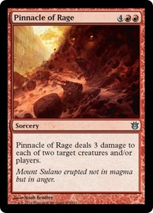Magic: The Gathering Born of the Gods Single Card Red Uncommon #105 Pinnacle of Rage