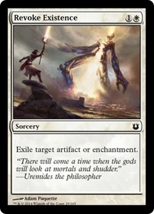 Magic: The Gathering Born of the Gods Single Card White Common #25 Revoke Existence