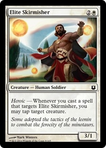 Magic: The Gathering Born of the Gods Single Card White Common #8 Elite Skirmisher