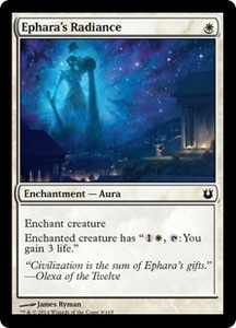 Magic: The Gathering Born of the Gods Single Card White Common #9 Ephara's Radiance