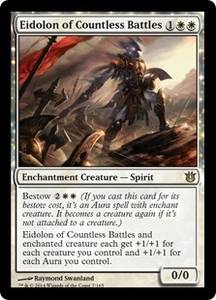 Magic: The Gathering Born of the Gods Single Card White Rare #7 Eidolon of Countless Battles