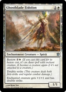 Magic: The Gathering Born of the Gods Single Card White Uncommon #12 Ghostblade Eidolon