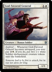 Magic: The Gathering Born of the Gods Single Card White Uncommon #14 God-Favored General