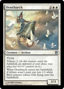 Magic: The Gathering Born of the Gods Single Card White Uncommon #23 Ornitharch