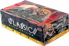 Magic the Gathering Classic Sixth 6th Edition Booster BOX [36 packs]