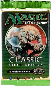 Magic the Gathering Classic Sixth 6th Edition Booster Pack