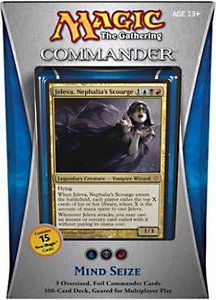 Magic the Gathering Commander EDH 2013 Deck Mind Seize [Blue, Black & Red]