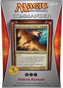 Magic the Gathering Commander EDH 2013 Deck Power Hungry [Black, Red & Green]