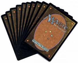 Magic the Gathering Custom Card Lot 10 Card Random Gold Multicolor Rare Pack