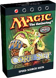 Magic the Gathering Eighth Edition Theme Deck Speed Scorch