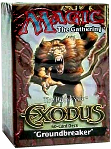 Magic the Gathering Exodus Theme Deck Groundbreaker