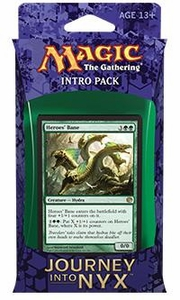 Magic the Gathering Journey into Nyx Intro Pack Wilds & the Deep