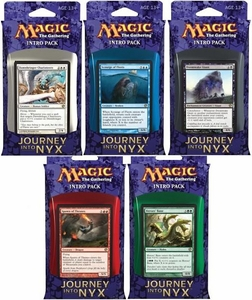 Magic the Gathering Journey into Nyx Set of 5 Intro Packs