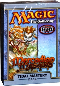 Magic the Gathering Mercadian Masques Theme Deck Tidal Mastery