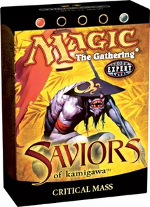 Magic the Gathering Saviors of Kamigawa Theme Deck Critical Mass