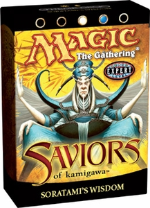 Magic the Gathering Saviors of Kamigawa Theme Deck Soratami's Wisdom