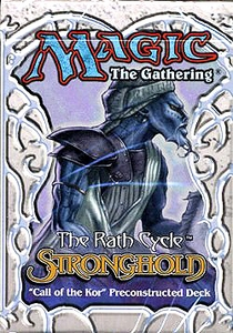 Magic the Gathering Stronghold Theme Deck Call of the Kor