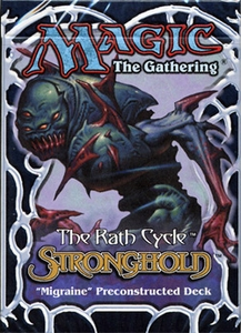 Magic the Gathering Stronghold Theme Deck Migraine