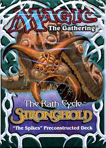 Magic the Gathering Stronghold Theme Deck The Spikes