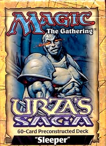 Magic the Gathering Urza's Saga Theme Deck Sleeper