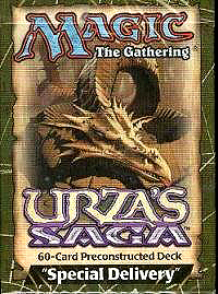 Magic the Gathering Urza's Saga Theme Deck Special Delivery