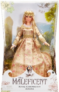 Maleficent Movie Enchanted Collector Royal Coronation Doll Aurora