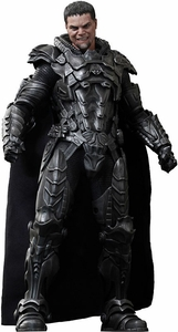 Man of Steel Hot Toys Movie Masterpiece 1/6 Scale Collectible Figure General Zod New!