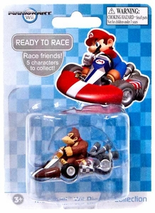 Mario Kart Wii Die Cast Collection 2 Inch Vehicle Donkey Kong