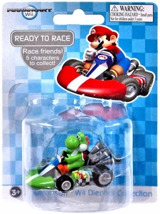 Mario Kart Wii Die Cast Collection 2 Inch Vehicle Yoshi