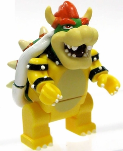 Super Mario Wii K'NEX LOOSE Mini Figure Bowser