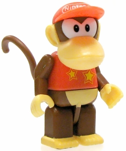Super Mario Wii K'NEX LOOSE Mini Figure Diddy Kong