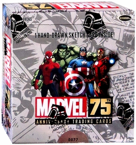 Marvel 75th Anniversary Trading Card Box