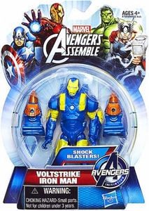 Marvel Avengers Assemble Action Figure Voltstrike Iron Man