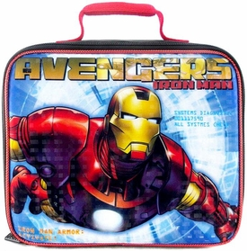 Marvel Avengers Assemble Insulated Lunch Bag New Avengers Iron Man New!