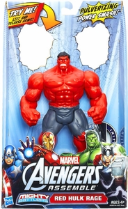 Marvel Avengers Assemble Mighty Battlers Red Hulk Rage