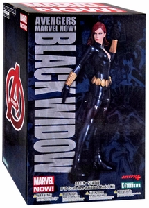 Marvel Avengers Kotobukiya 1/10 Scale ArtFX+ Statue Black Widow [Marvel Now]