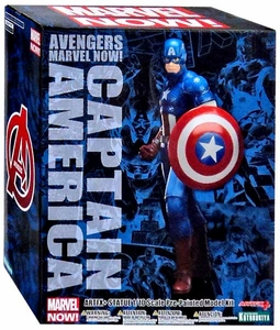 Marvel Avengers Kotobukiya 1/10 Scale ArtFX+ Statue Captain America [Marvel Now] New!