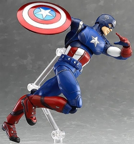 Marvel Avengers Max Factory Figma Action Figure Captain America Pre-Order ships September