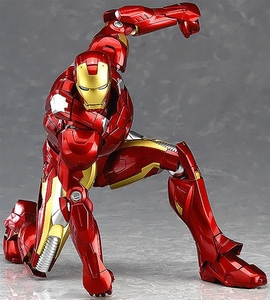 Marvel Avengers Max Factory Figma Action Figure Iron Man [Mark VII] Pre-Order ships August