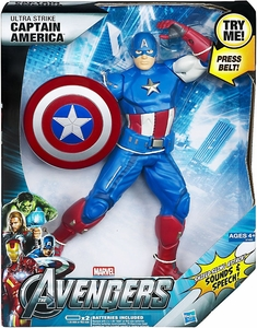 Marvel Avengers Movie Ultimate Electronic Figure Ultra Strike Captain America
