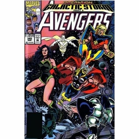 Marvel Comic Books Avengers Galactic Storm Vol. 1 Trade Paperback