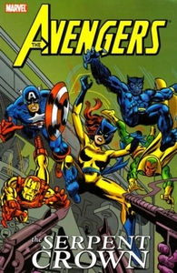 Marvel Comic Books Avengers Serpent Crown Trade Paperback