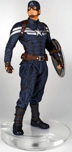 Marvel Gentle Giant 18 Inch Polystone Statue Captain America [Stealth] Pre-Order ships October